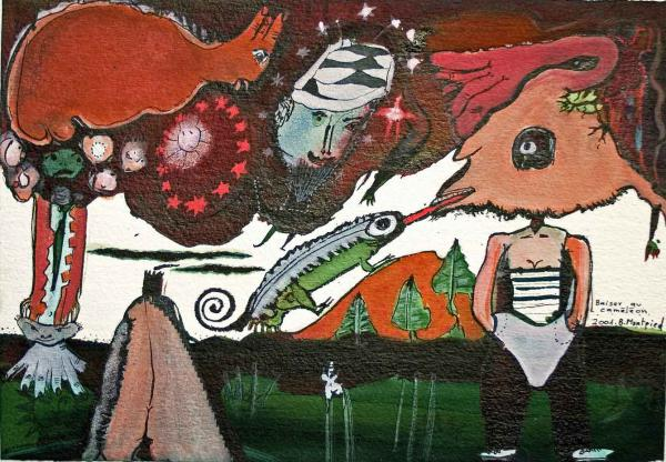 Baiser au caméléon, 2001