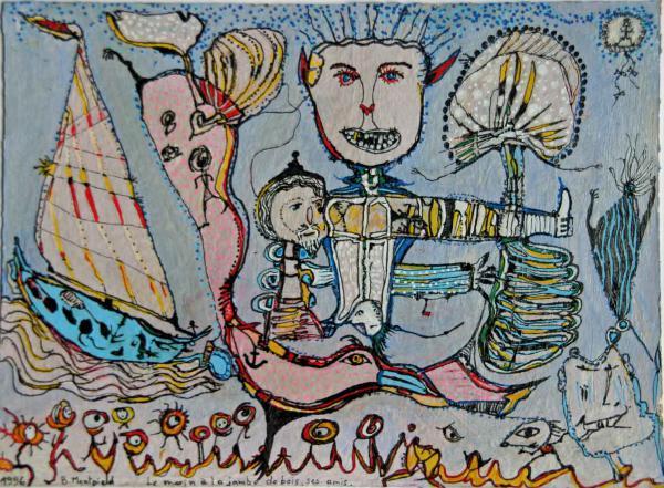 Le marin à la jambe de bois, ses amis... 1996