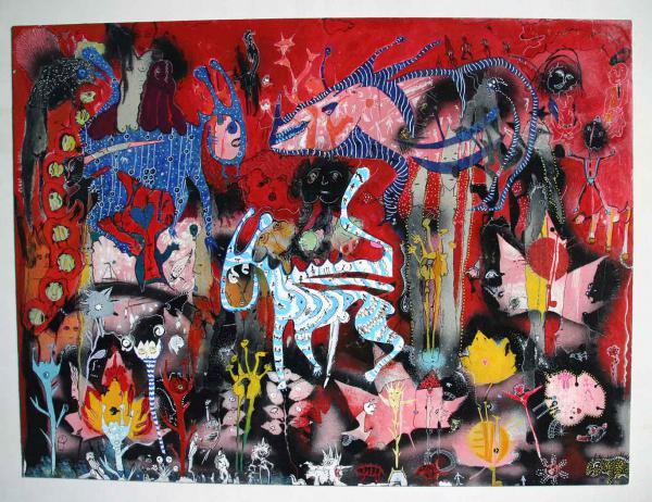 L'enfer c'est le paradis, oeuvre à deux, avec Petra Simkova, faite en 1998
