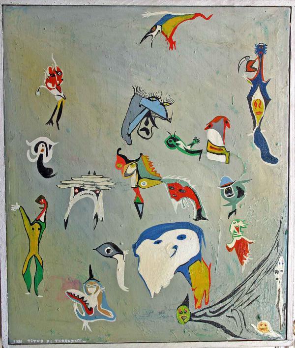 Têtes de turquoise, 1981
