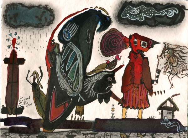 Le Gueulard et les petites filles, 2013