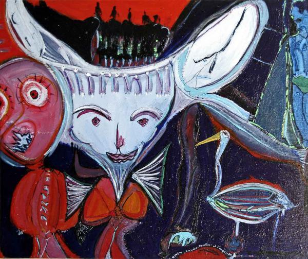 La cigogne, Grandes Oreilles et l'angoissée, 2001