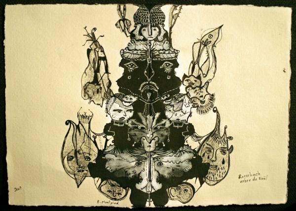 Rorschach arbre de Noël, 2007