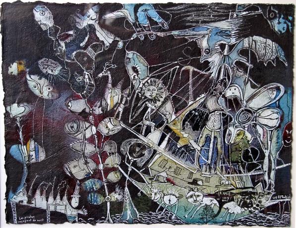 Les pirates voyagent de nuit, 2004