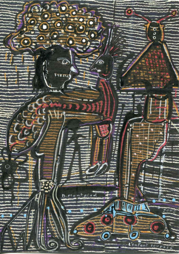L'enfant soupesé, 2002