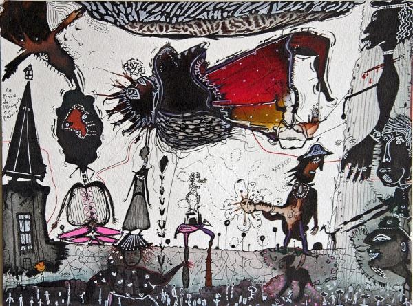 La proie de l'araignée au plafond, 2006