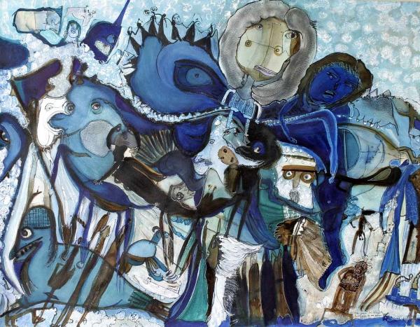 Elle parmi les bleus fantômes de ma mémoire, 2003